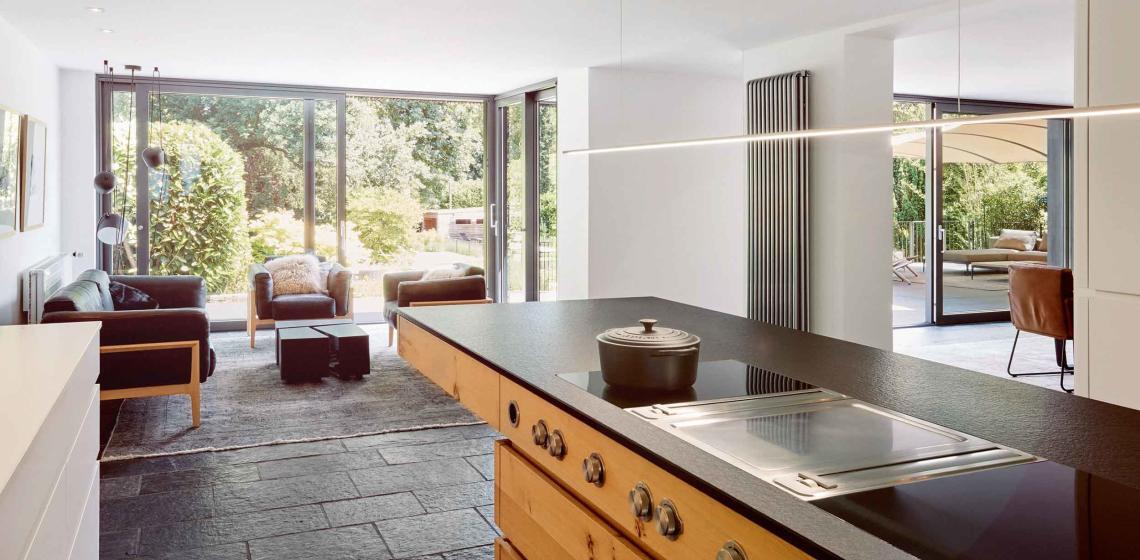 Küche im Mittelpunkt - Das neue Wohnzimmer