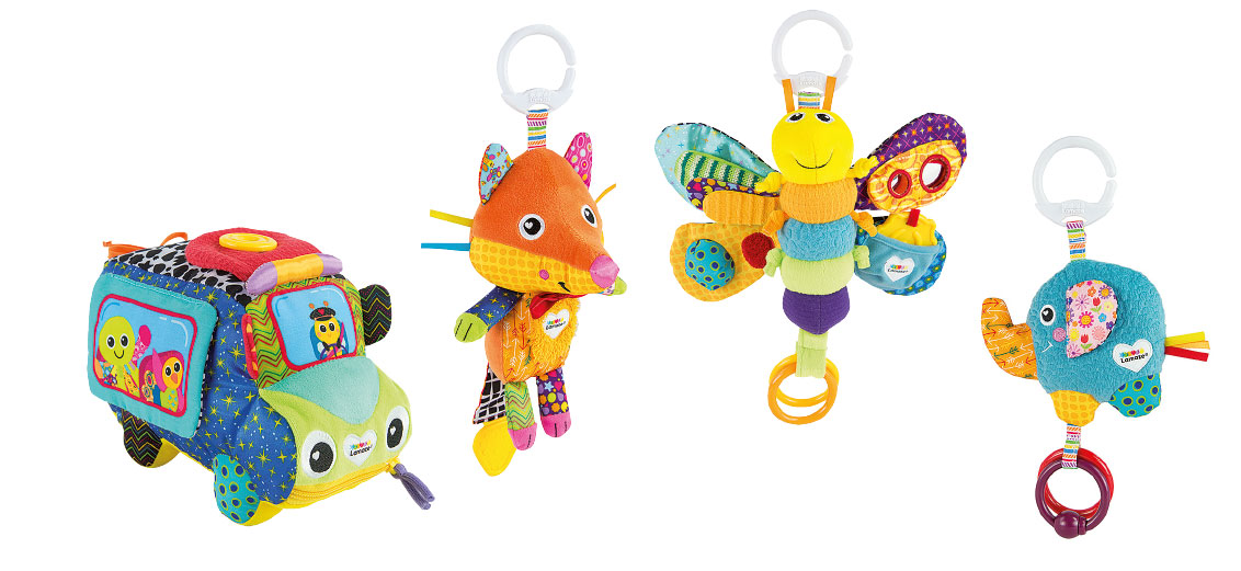 Lamaze Baby Spielzeug Flannery, der Fuchs Clip & Go, das