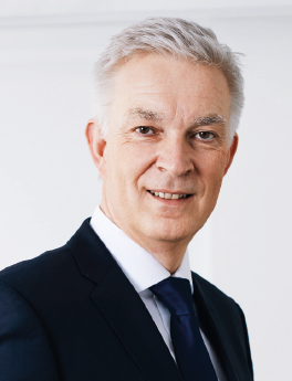 Dr Rainer Gaebel (RG),  Managing Director